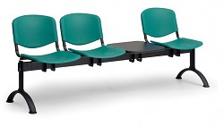 plastová lavica do čakární ISO Biedrax LC9710Z - čierne nohy
