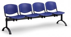 plastová lavica do čakární ISO Biedrax LC9720M - čierne nohy