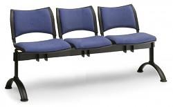 čalúnená lavica do čakární Smart Biedrax LC9214M - čierne nohy