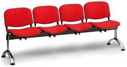 čalúnená lavica do čakární Viva Biedrax LC9378CV - chrómované nohy