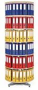 regál otočný archivačný - 6 polic, breza Biedrax AS4666