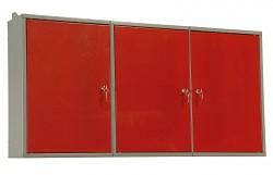 skrinka do dielne na náradie, kovová, dielenská, dvojdielna - Biedrax KS5810