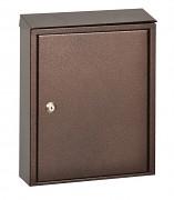 poštová schránka na listy, noviny, lakovaná hnedá - Biedrax SD6184
