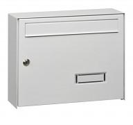 poštová schránka na listy, noviny, lakovaná biela - Biedrax SD6309