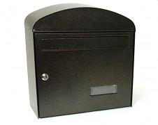 poštová schránka na listy, noviny, lakovaná hnedá - Biedrax SD6322