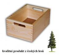 drevená debna malá 30 x 20 x 13 cm - Biedrax