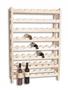drevený stojan na víno pre 56 fliaš - SV56