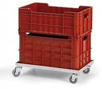 vozík pod prepravky  - 60 x 40 cm Biedrax PPP1504