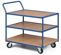 policový dielenský vozík Biedrax PV4082 - 100 x 70 cm