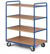 policový vozík Biedrax PV4091 - 100 x 70 cm