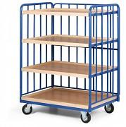 policový vozík Biedrax PV4140 - 100 x 70 cm