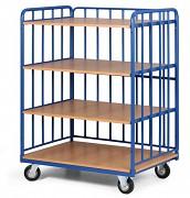 vozík policový Biedrax PV4130 - 100 x 70 cm