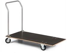 Plošinový vozík s drevenou doskou - Biedrax VP2025