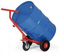 vozík na sudy s oporným kolesom Biedrax VS1532