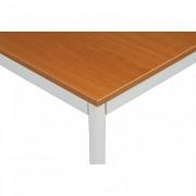 Stôl jedálenský 80 x 80 cm Biedrax JS4639SST - sv.sivá/čerešňa