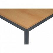 Stôl jedálenský 80 x 80 cm Biedrax JS4639TSB - tm.sivá/buk