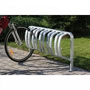 Stojan na bicykle Biedrax SK1901 - 5 bicyklov na zabetónovanie