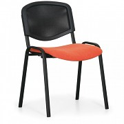 konferenčná čalúnená stolička, oranžová Biedrax Z9850O