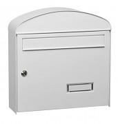 poštová schránka na listy, noviny, lakovaná biela - Biedrax SD6322B