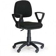 kancelárska stolička Milano Biedrax Z9601C s podpierkami rúk