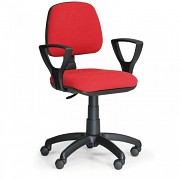 kancelárska stolička Milano Biedrax Z9601CV s podpierkami rúk