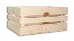 drevená debna 46 x 32 x 21 cm - Biedrax
