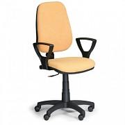 kancelárska stolička Comfort Biedrax Z9668ZL s podpierkami rúk