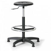 laboratórna stolička Biedrax Z9516 s klzákmi